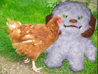 Wampa Likes Chicken