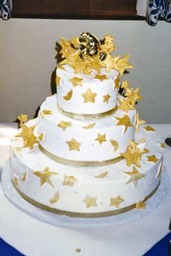 Kickass Wedding Cake
