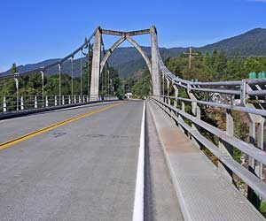 Orleans bridge, California
