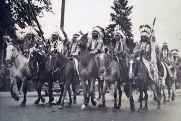Pendleton Roundup 1925 Frederic Allen Williams