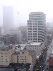 Snow Downtown