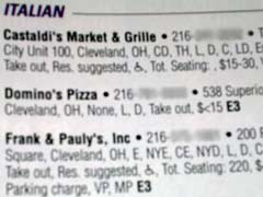 Italian Food in Ohio