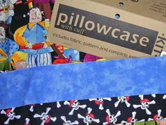 Pillowcase Made Out Off Pirates