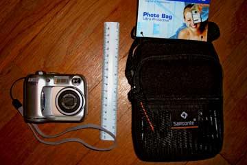 Camera Bag for Giants