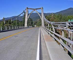 Orleans bridge, California