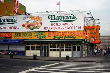 Yum, Nathan's Hot Dogs